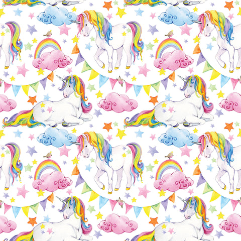 Unicorn Party Photo Backdrop