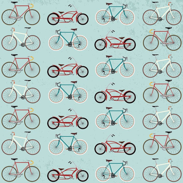 Vintage Bikes Photo Backdrop