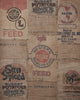 Vintage Burlap Sacks Photo Backdrop