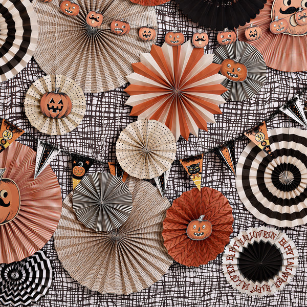 Vintage Halloween Photo Backdrop