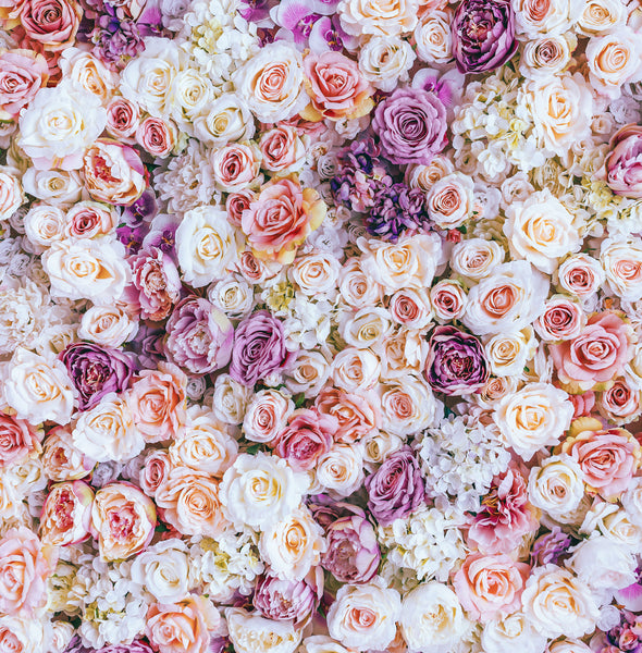 Wall of Roses Photo Backdrop