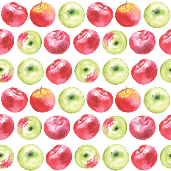 Clearance Watercolor Apples Photo Backdrop