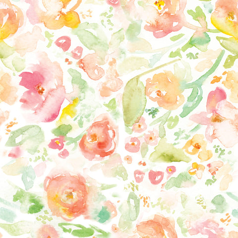 Blended Flowers Photo Backdrop