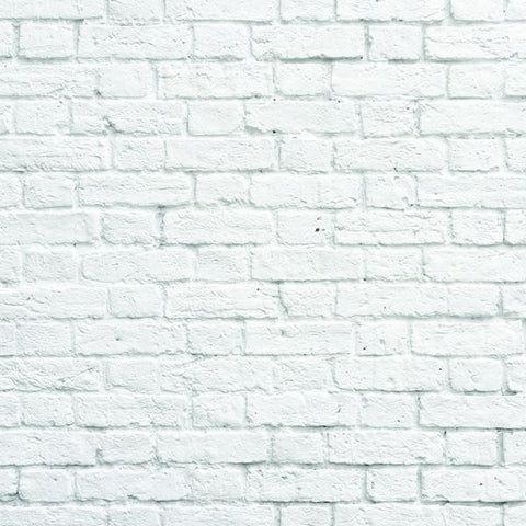 Clearance White Bricks Photo Backdrop