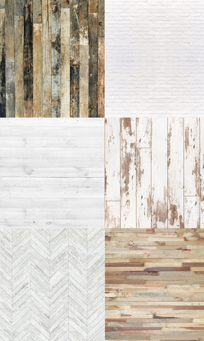 Wood & Brick Photo Backdrop
