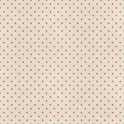 Red Polka Paper Photo Backdrop