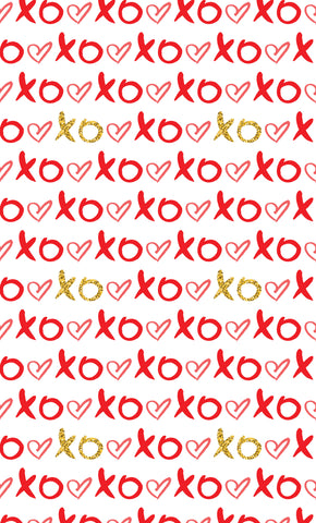 XO Gold Photo Backdrop