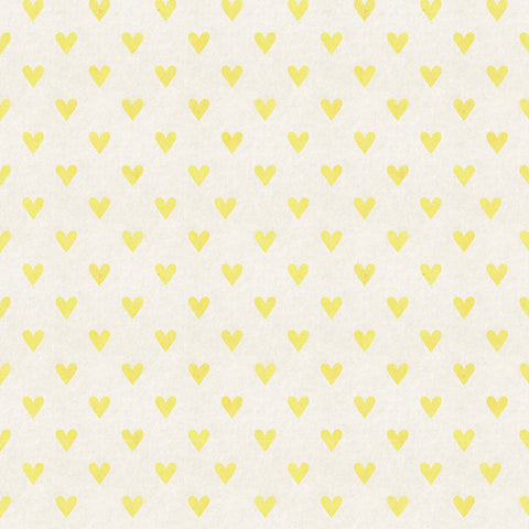 Yellow Hearts Photo Backdrop