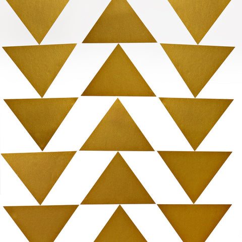 Big Gold Triangles Photo Background