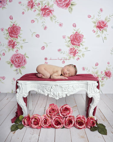 Charm School Photo Backdrop