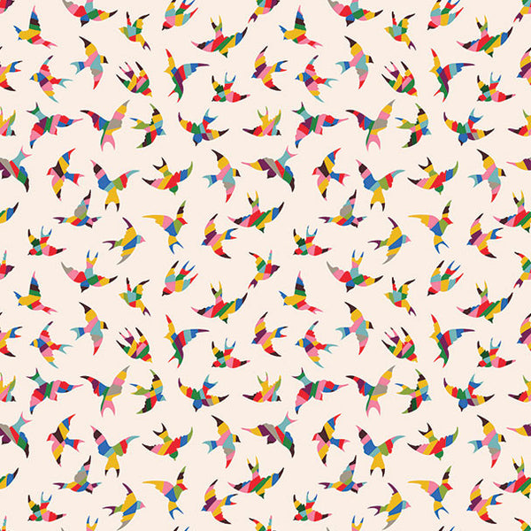 Color Bird Photo Backdrop