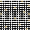 Gold Hearts Photo Background