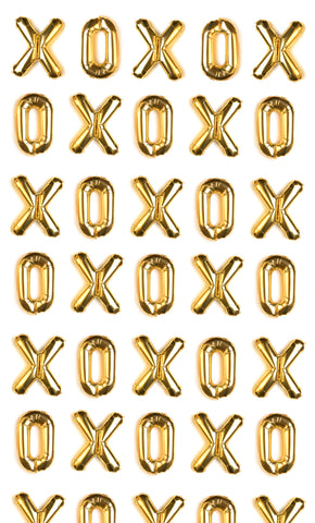 Gold XO Photo Backdrop