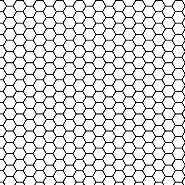Honeycomb Black and White Photo Backdrop