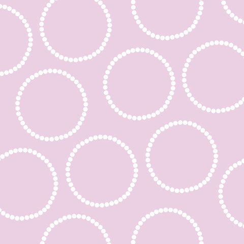 Lavender with Circles Photo Backdrop