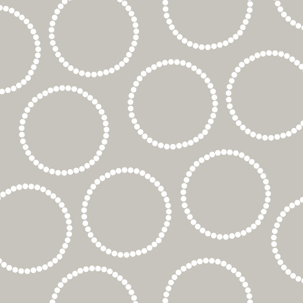 Light Grey with Circles Photo Background