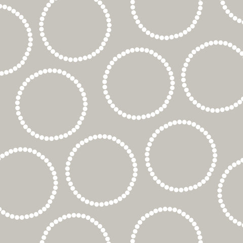 Light Grey with Circles Photo Backdrop