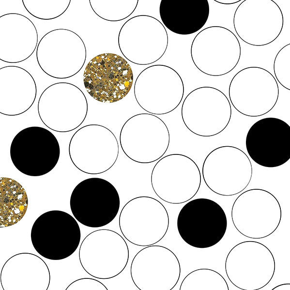 Retro Dot Gold Photo Background