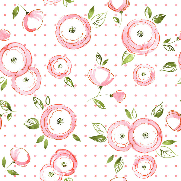 Spring Flower Photo Backdrop