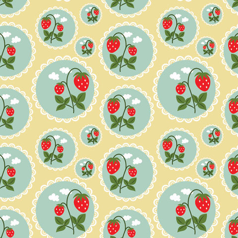 Vintage Berry Photo Backdrop