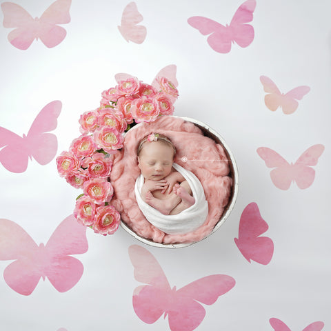 Flutterby Photo Backdrop