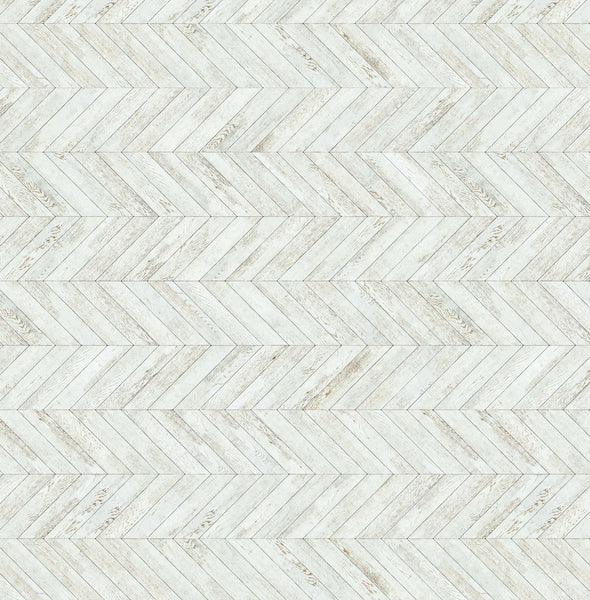 White wash herringbone Floor Drop