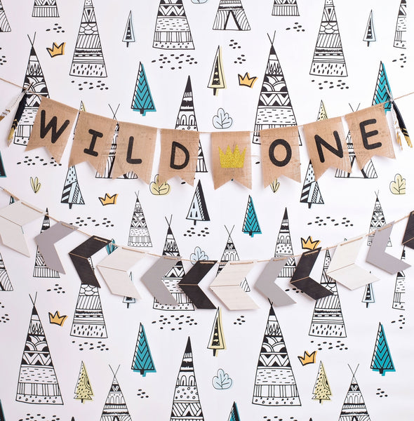 Wild Things Photo Backdrop