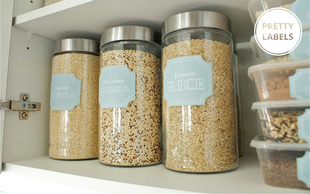 Pantry Inspiration by Tickled Peach Studio