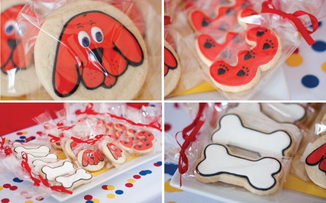 Clifford The Big Red Dog Cookies by Yummy Delicious Cookies