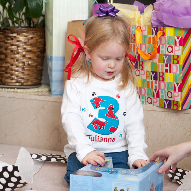 Clifford Birthday Shirt by Addie Kakes Kreations