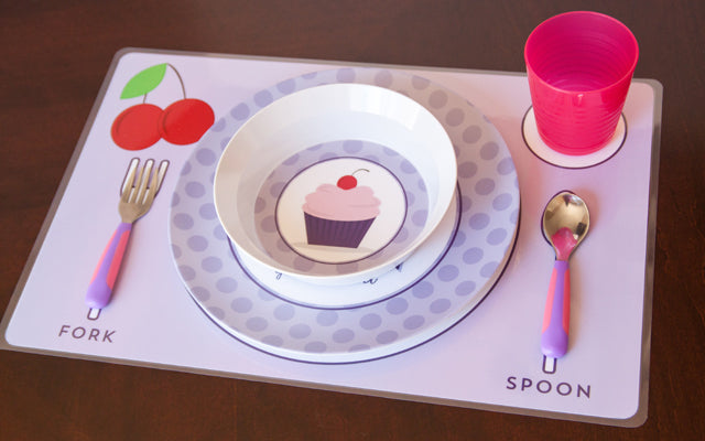 Inspired Kids Collection by Tickled Peach Studio | Personalized Tablewear