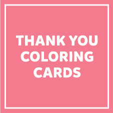 Thank You Coloring Cards