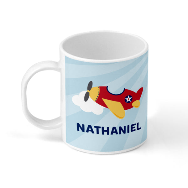 Airplane Personalized Mug