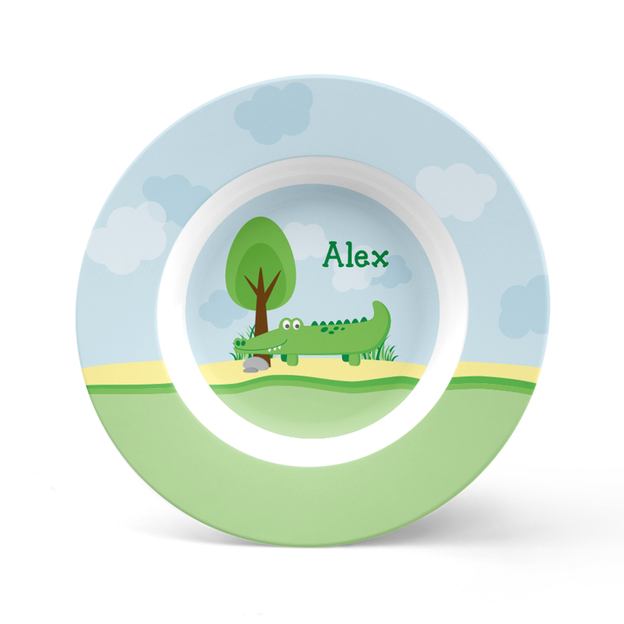 Alligator Personalized Plate