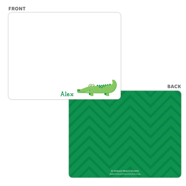 Alligator Note Cards
