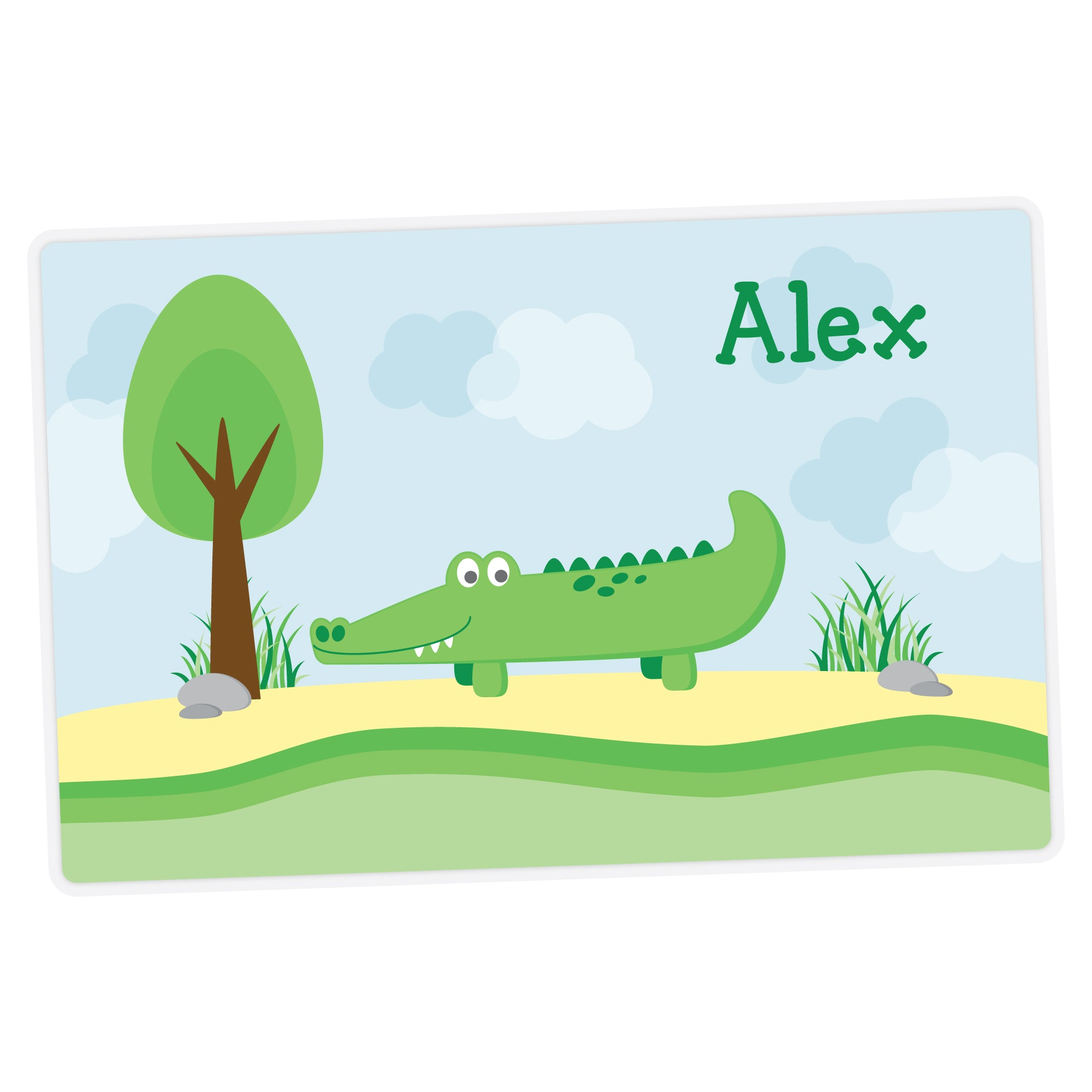 Alligator Personalized Placemat
