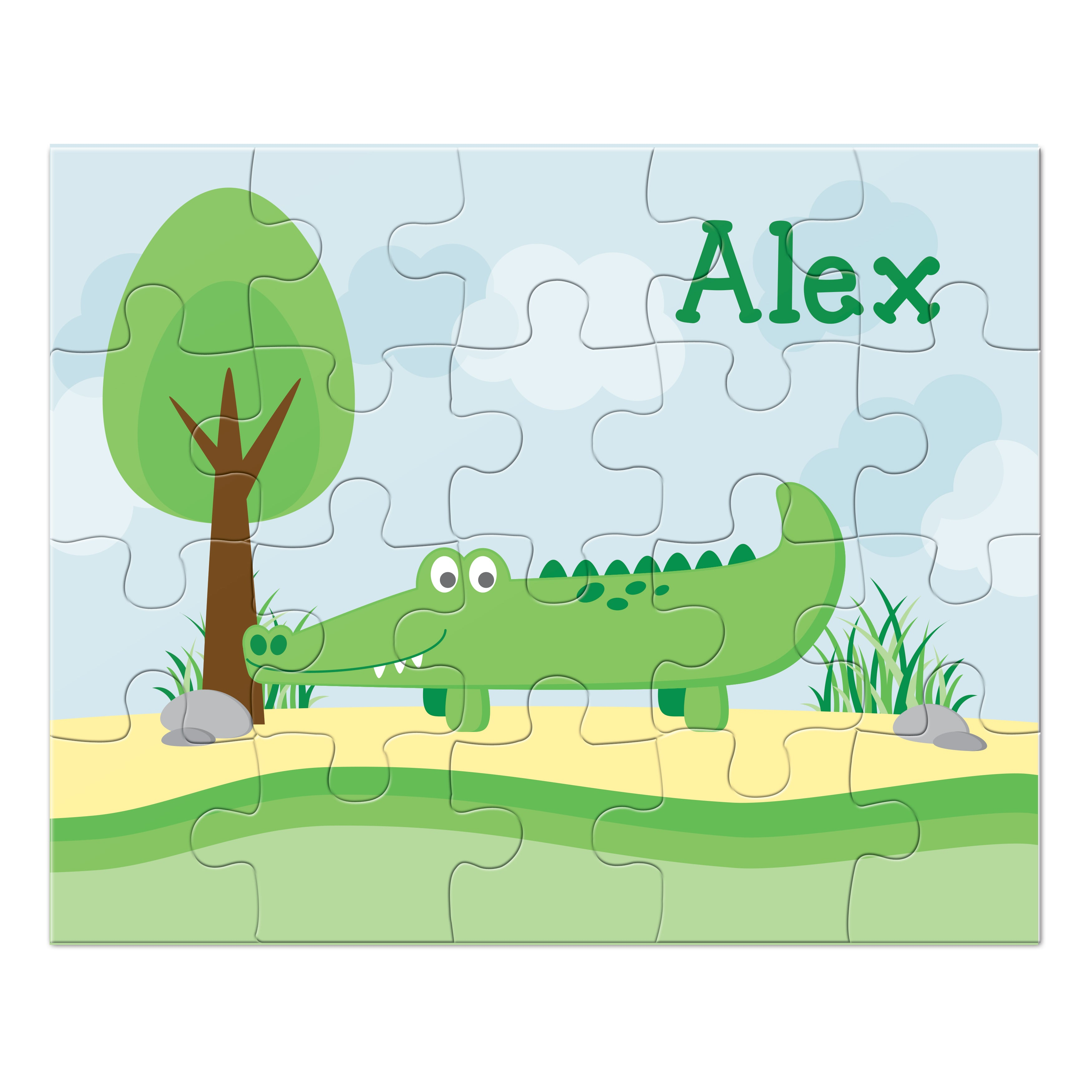 Alligator Personalized Puzzle