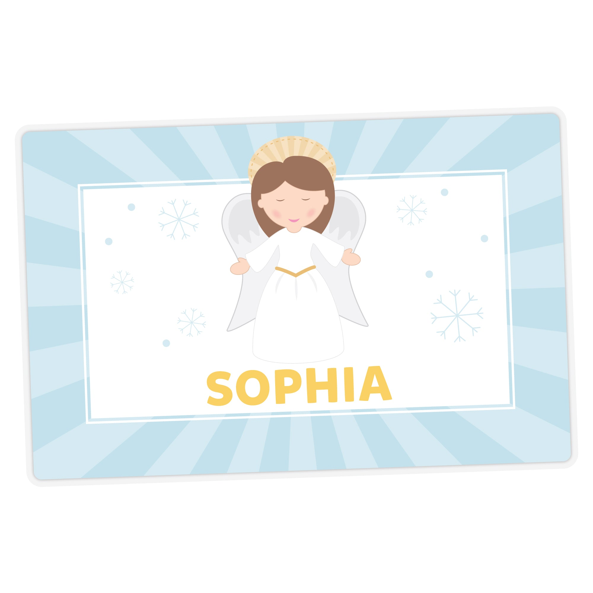 Angel Personalized Placemat