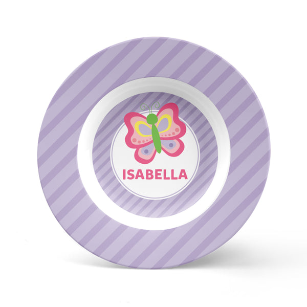 Butterfly Personalized Plate