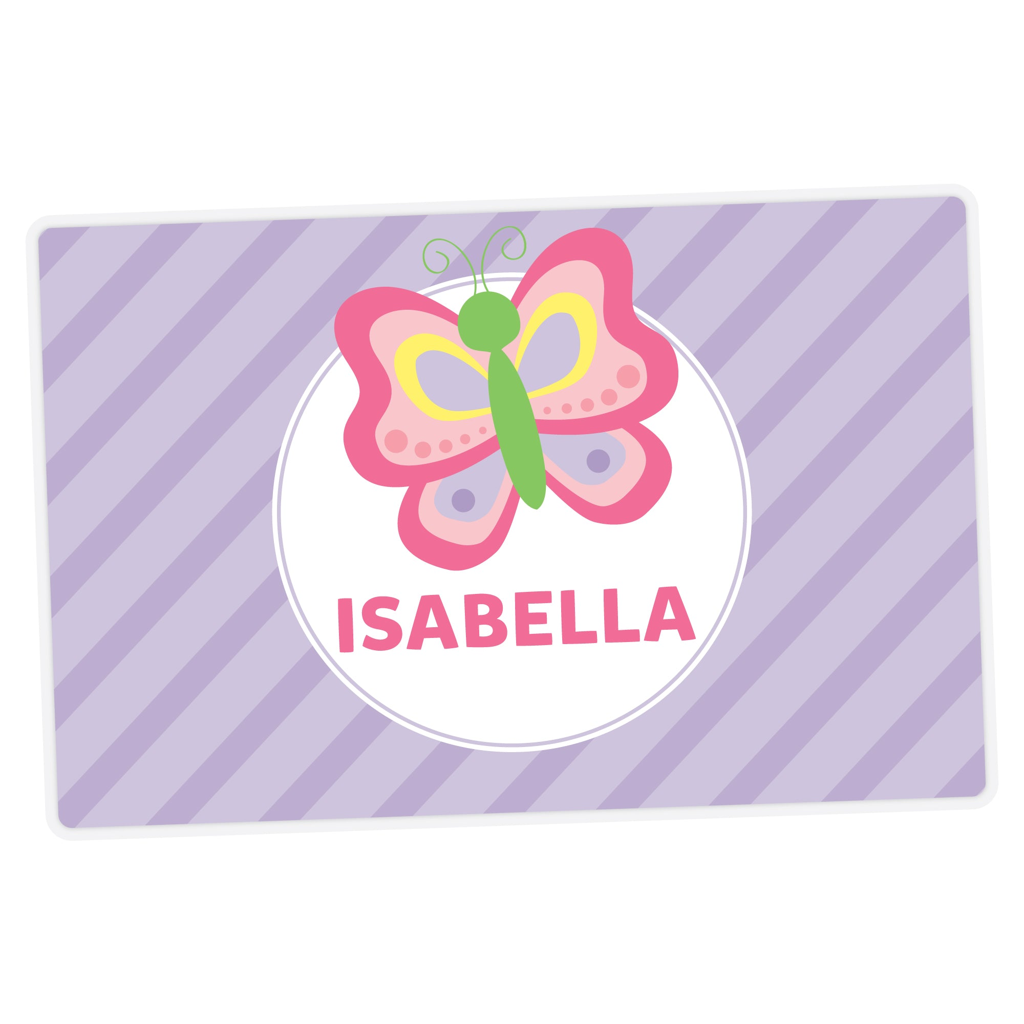 Butterfly Personalized Placemat