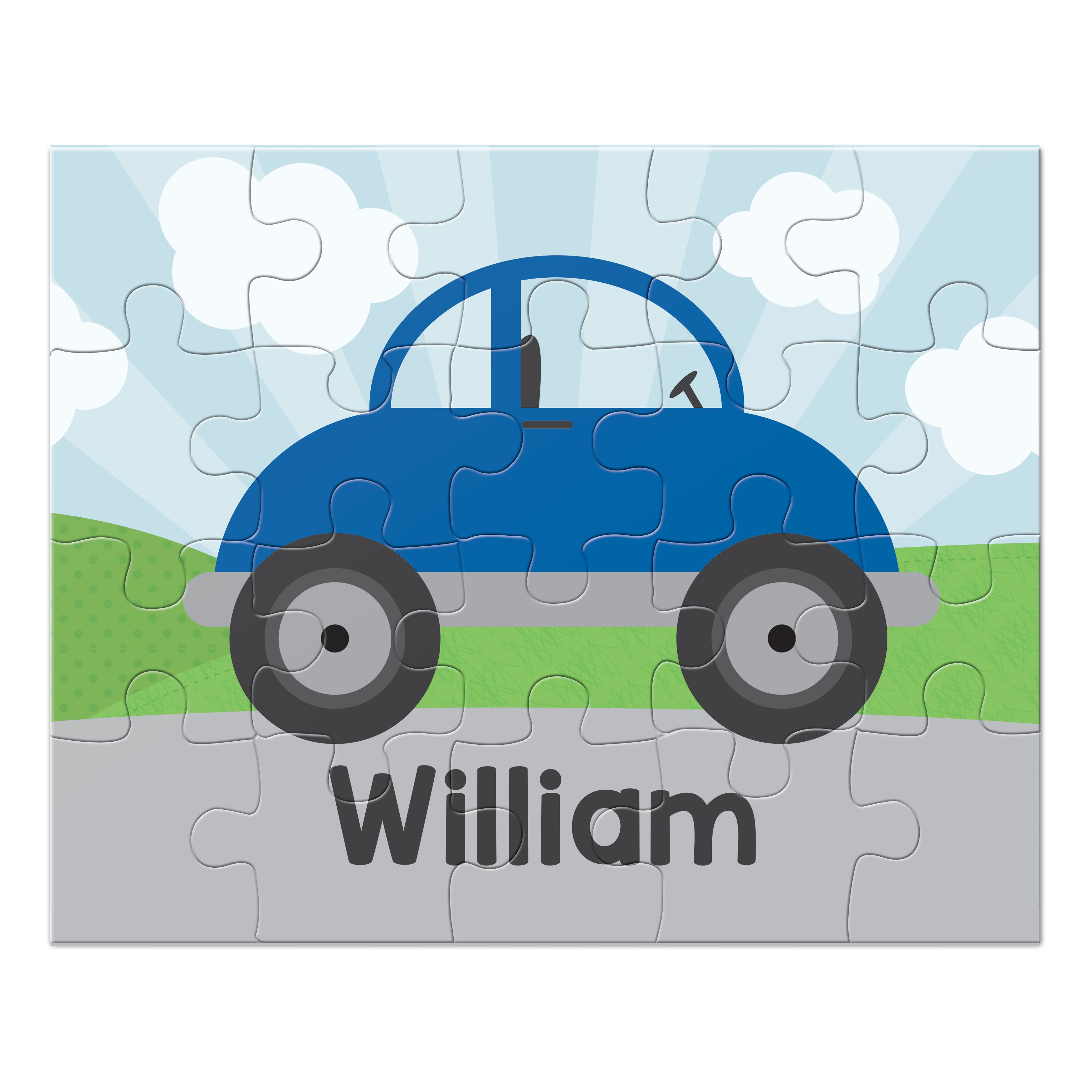 Car Personalized Puzzle