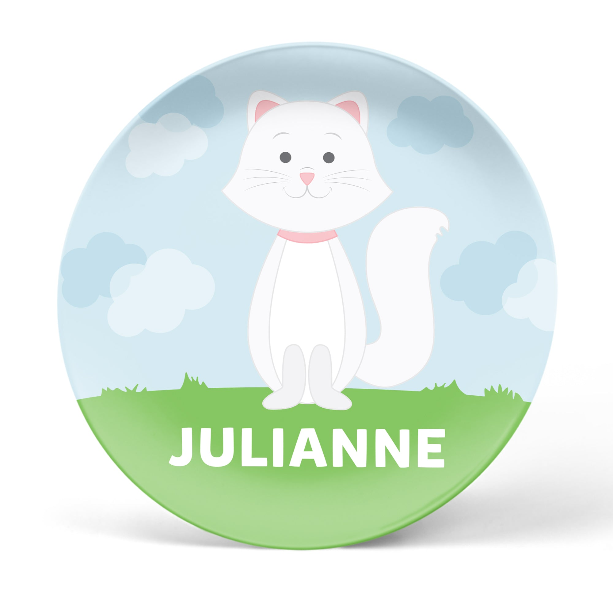 Cat Personalized Plate