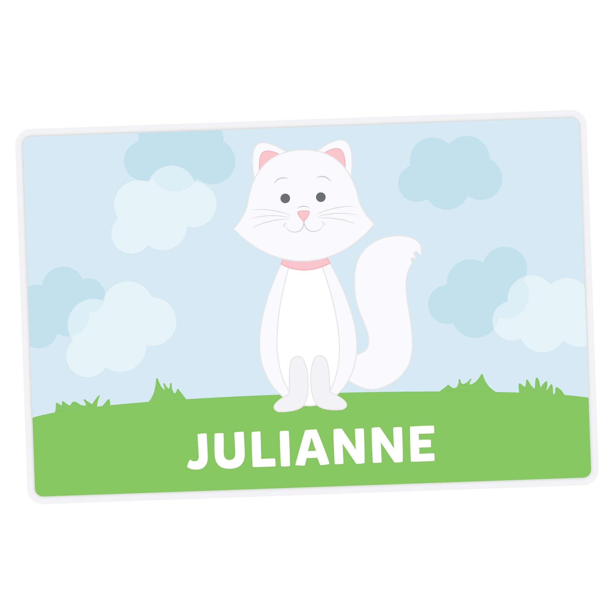 Cat Personalized Placemat