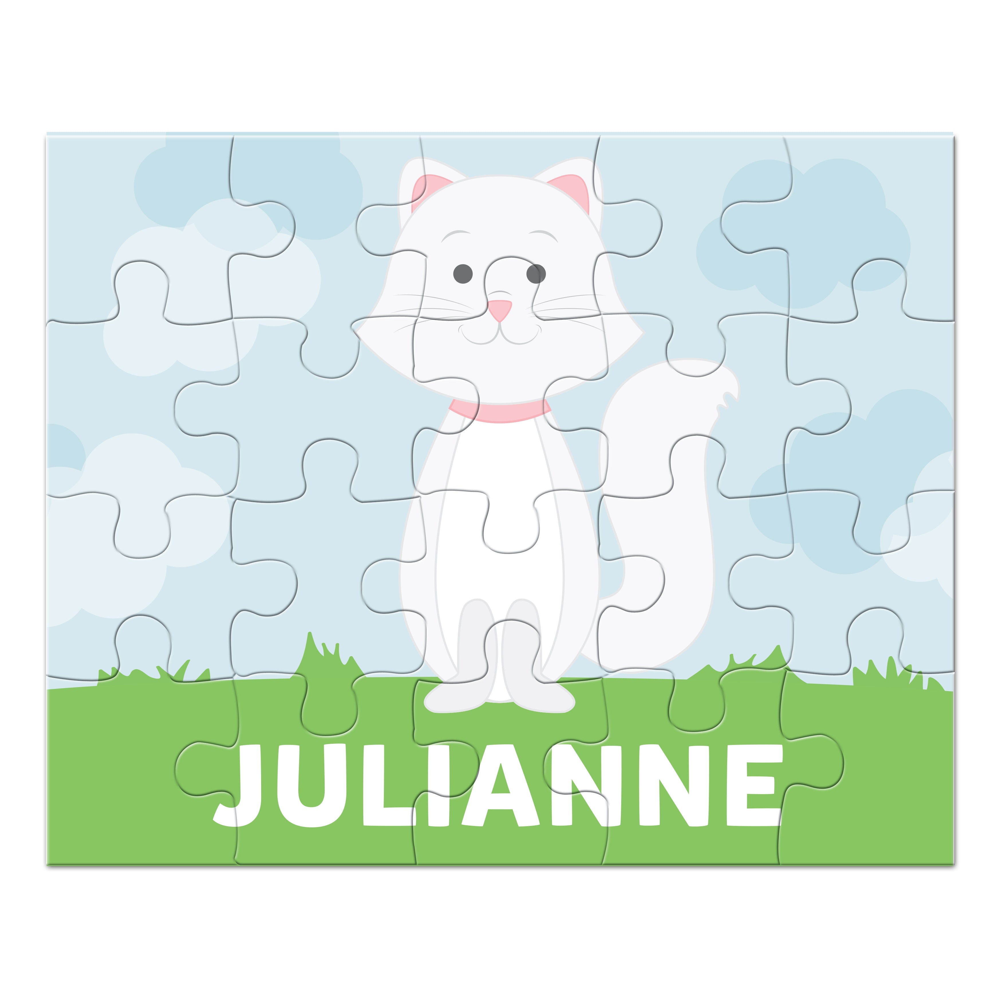 Cat Personalized Puzzle