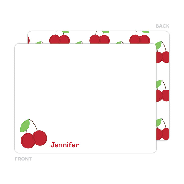 Cherry Note Cards