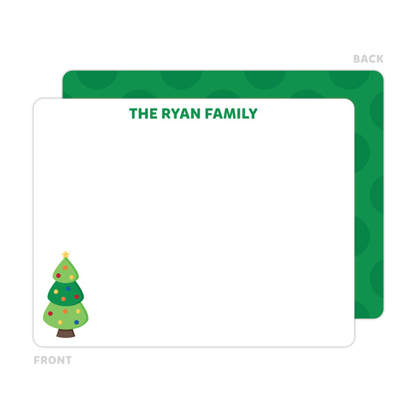 Christmas Tree Note Cards