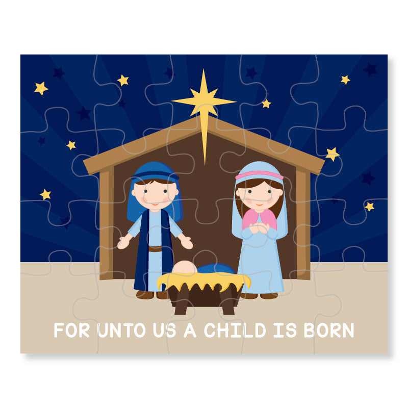 Christmas Nativity Puzzle