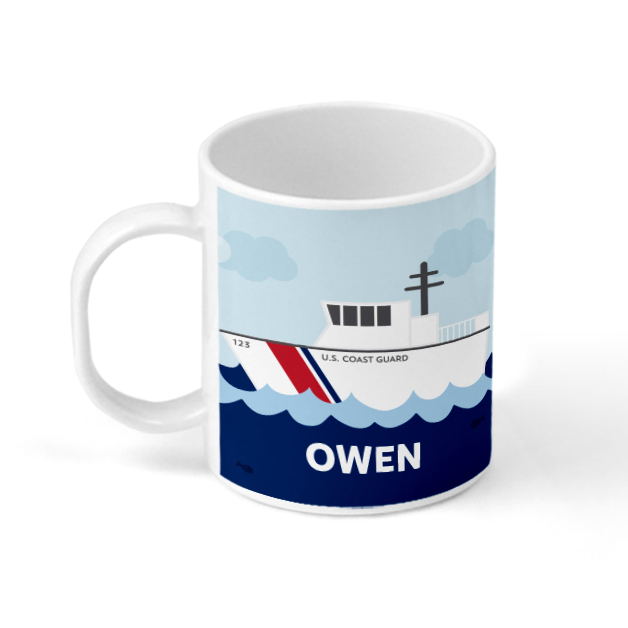 Coast Guard Personalized Mug