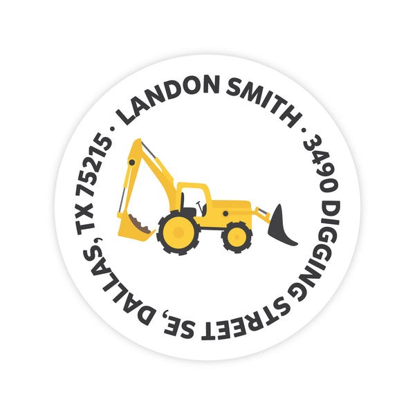Construction Address Labels