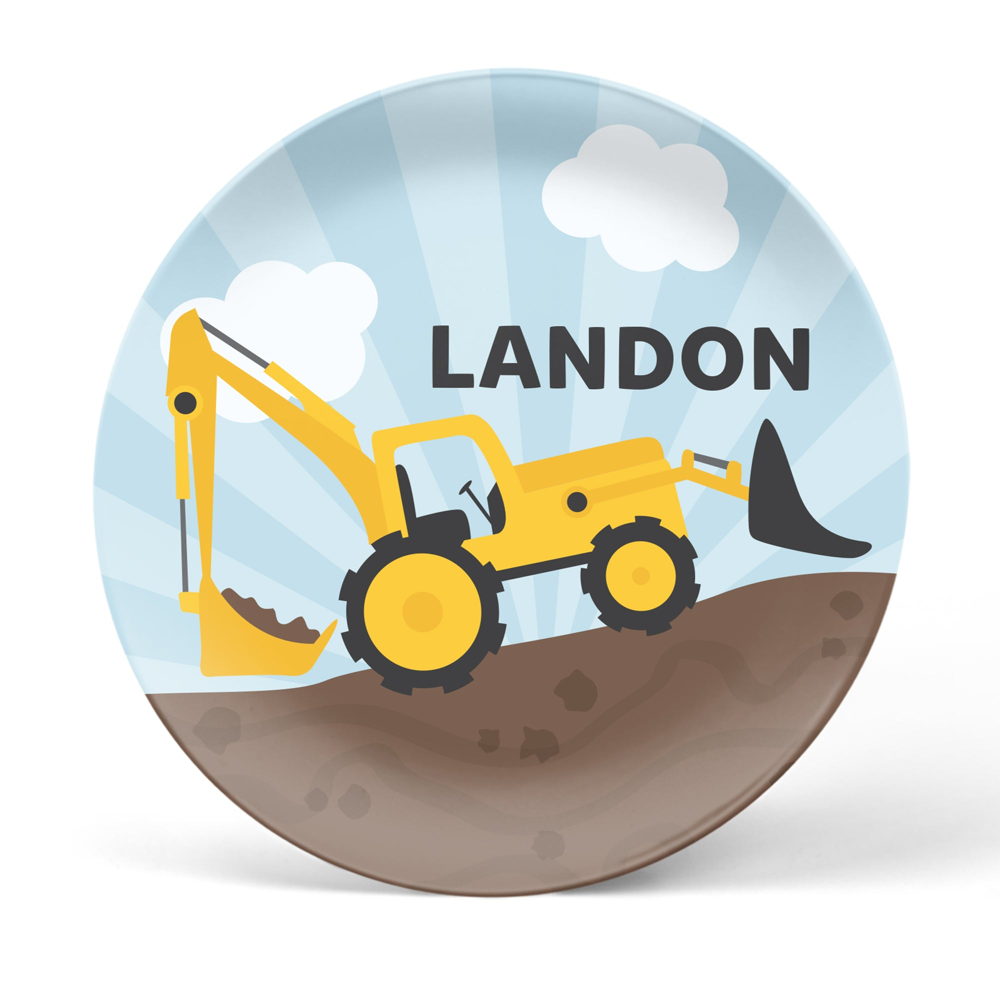 Construction Personalized Plate